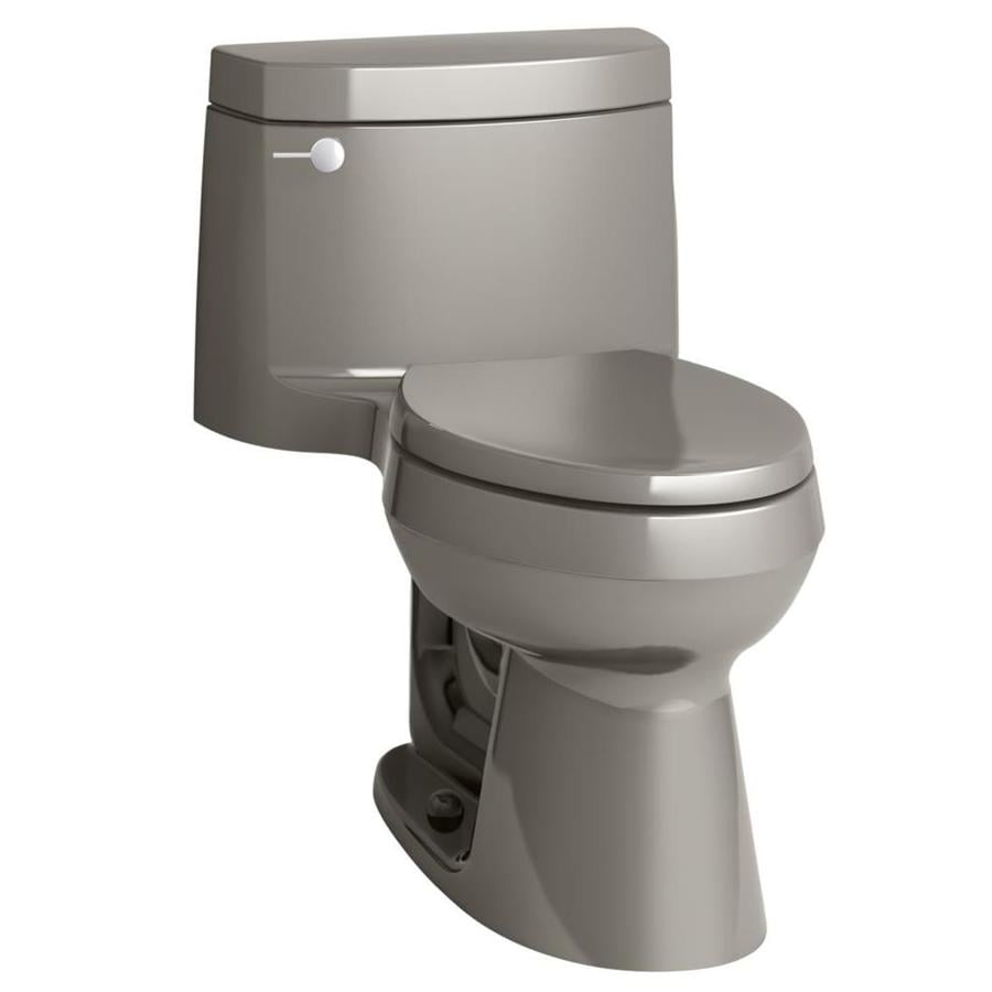 KOHLER Cimarron 1.28-GPF (4.85-LPF) Cashmere Elongated Chair Height 1-piece Toilet