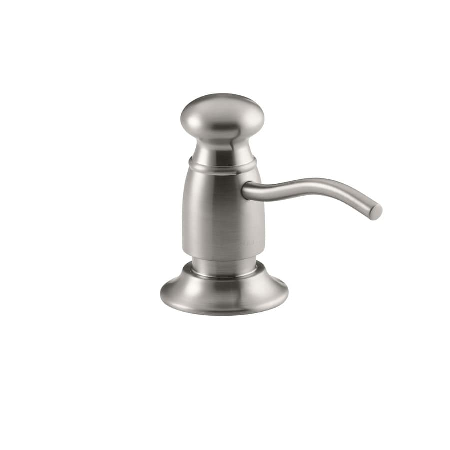 KOHLER Vibrant Stainless Soap and Lotion Dispenser