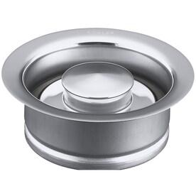 KOHLER 4.5000-in Polished Chrome Steel Garbage Disposal Sink Flange