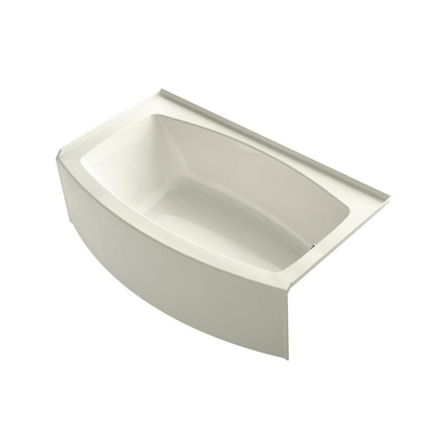 Shop kohler expanse 60 in biscuit acrylic alcove bathtub Kohler bathroom design tool