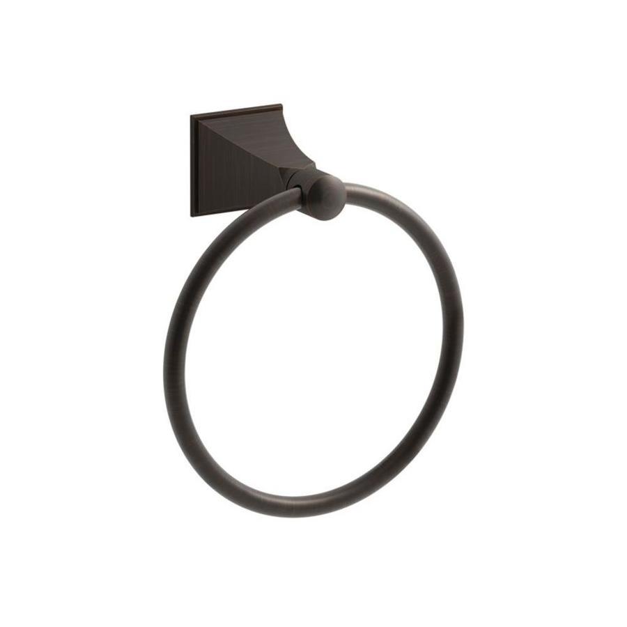 KOHLER Memoirs Oil-Rubbed Bronze Wall Mount Towel Ring