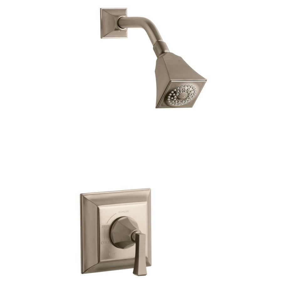 KOHLER Memoirs Oil-Rubbed Bronze 1-Handle Shower Faucet Trim Kit with Single Function Showerhead