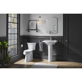 Kohler Cavata White Watersense Dual Flush Elongated Chair