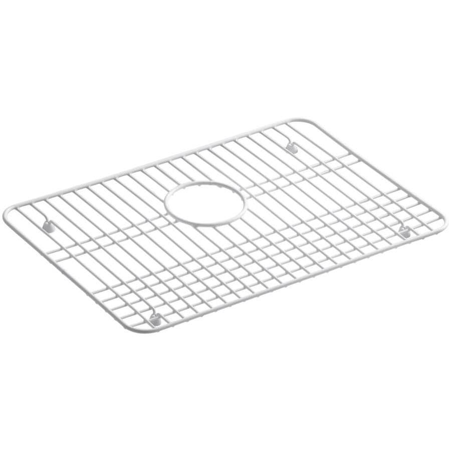 KOHLER Alcott 13.375-in x 19.625-in Sink Grid
