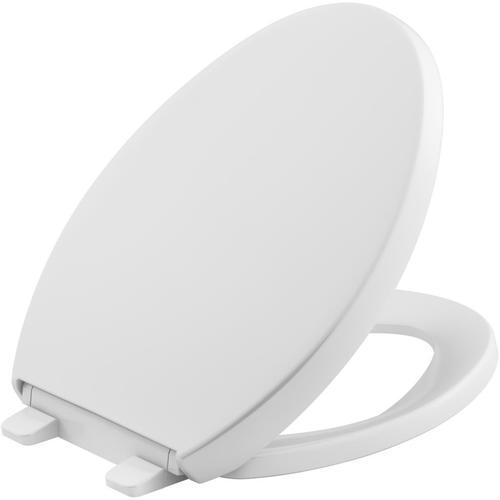 Magnificent Kohler Quiet Close Reveal Plastic Elongated Slow Close Toilet Seat At Lowes Com Machost Co Dining Chair Design Ideas Machostcouk