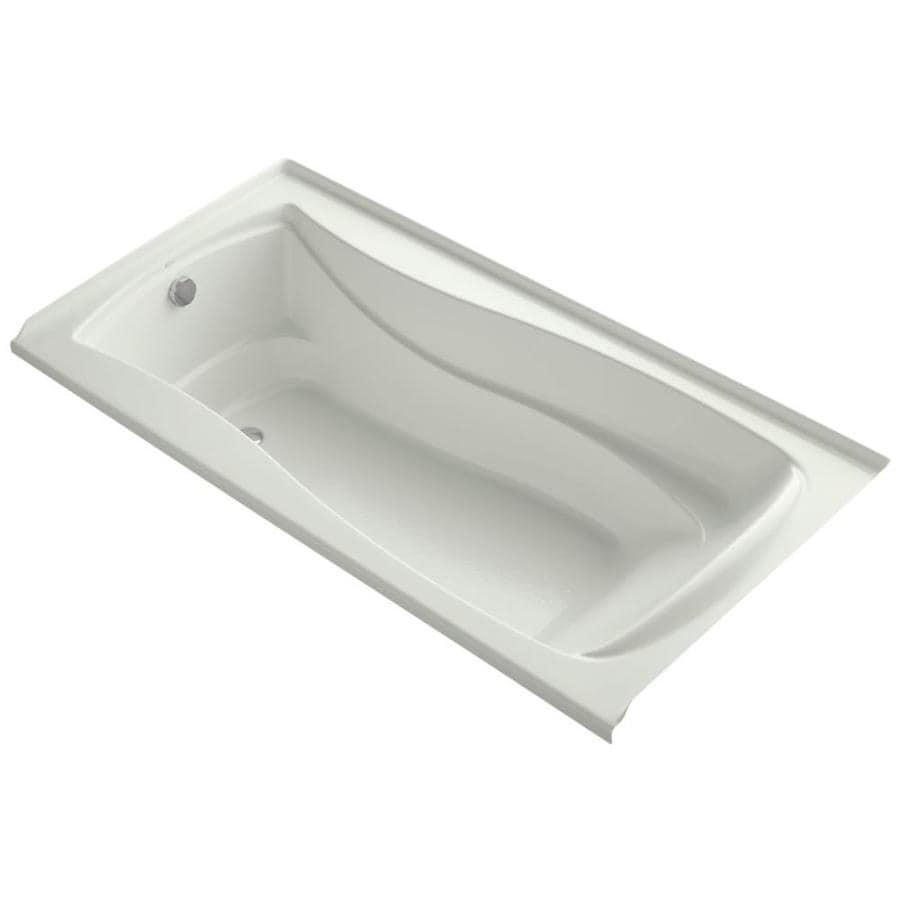 KOHLER Mariposa 72-in Dune Acrylic Alcove Bathtub with Left-Hand Drain