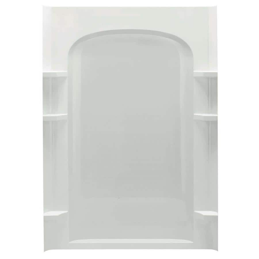Sterling Ensemble Shower Wall Surround Back Panel (Common: 2 In X 1.625