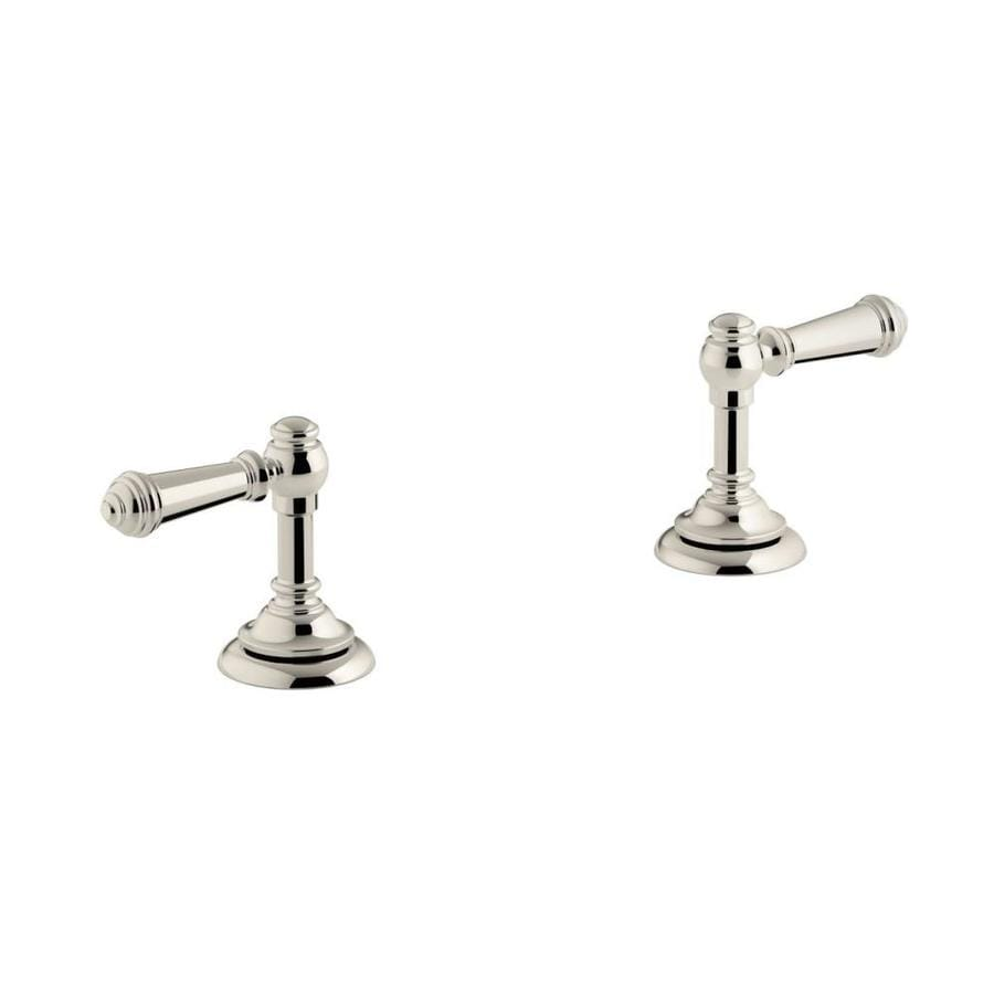 Shop KOHLER Nickel Faucet Or Bathtub Shower Handle At