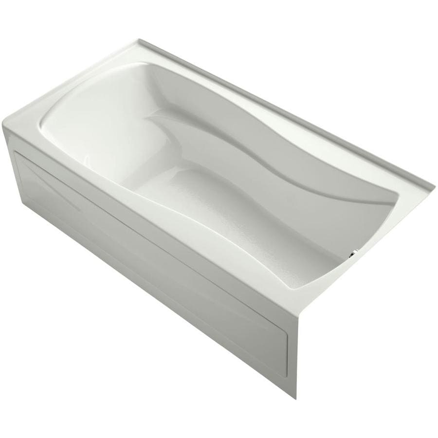 KOHLER Mariposa 72-in Dune Acrylic Skirted Bathtub with Right-Hand Drain