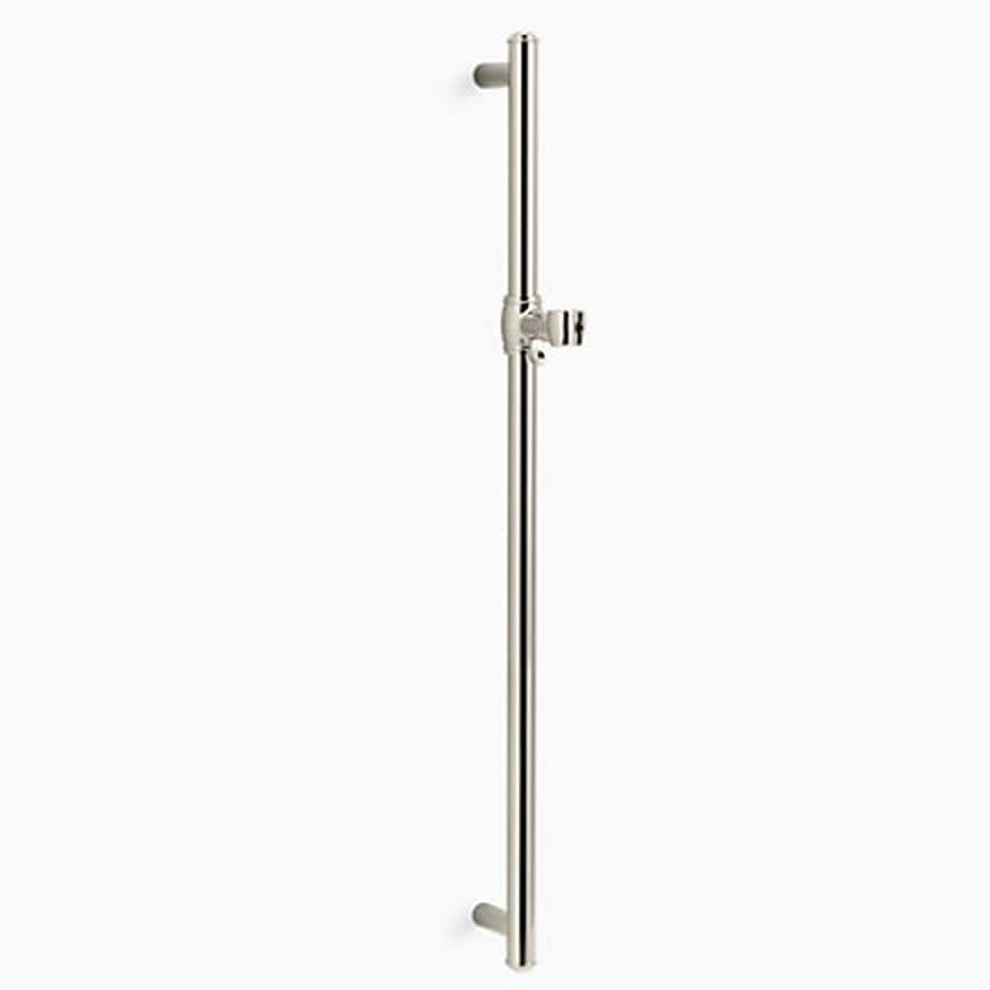 KOHLER Artifacts Vibrant Polished Nickel Slide Bar