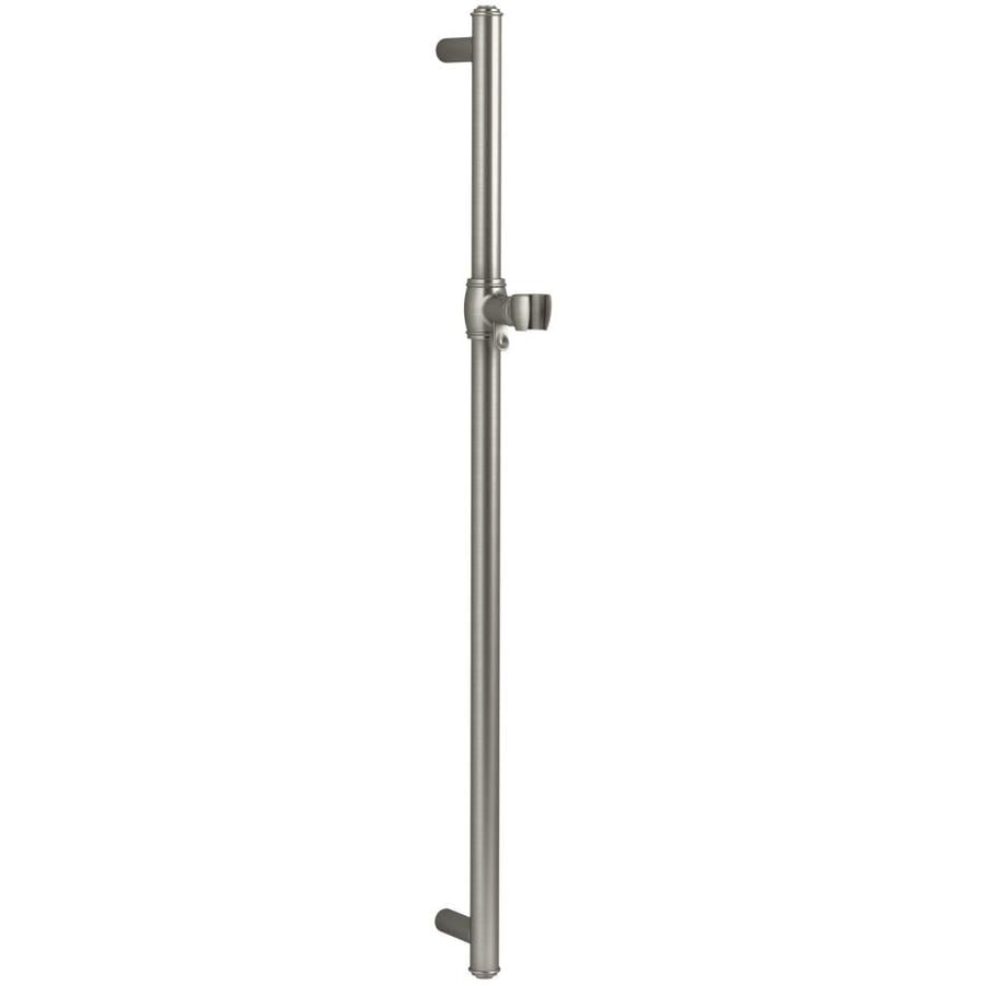 KOHLER Artifacts Vibrant Brushed Nickel Slide Bar