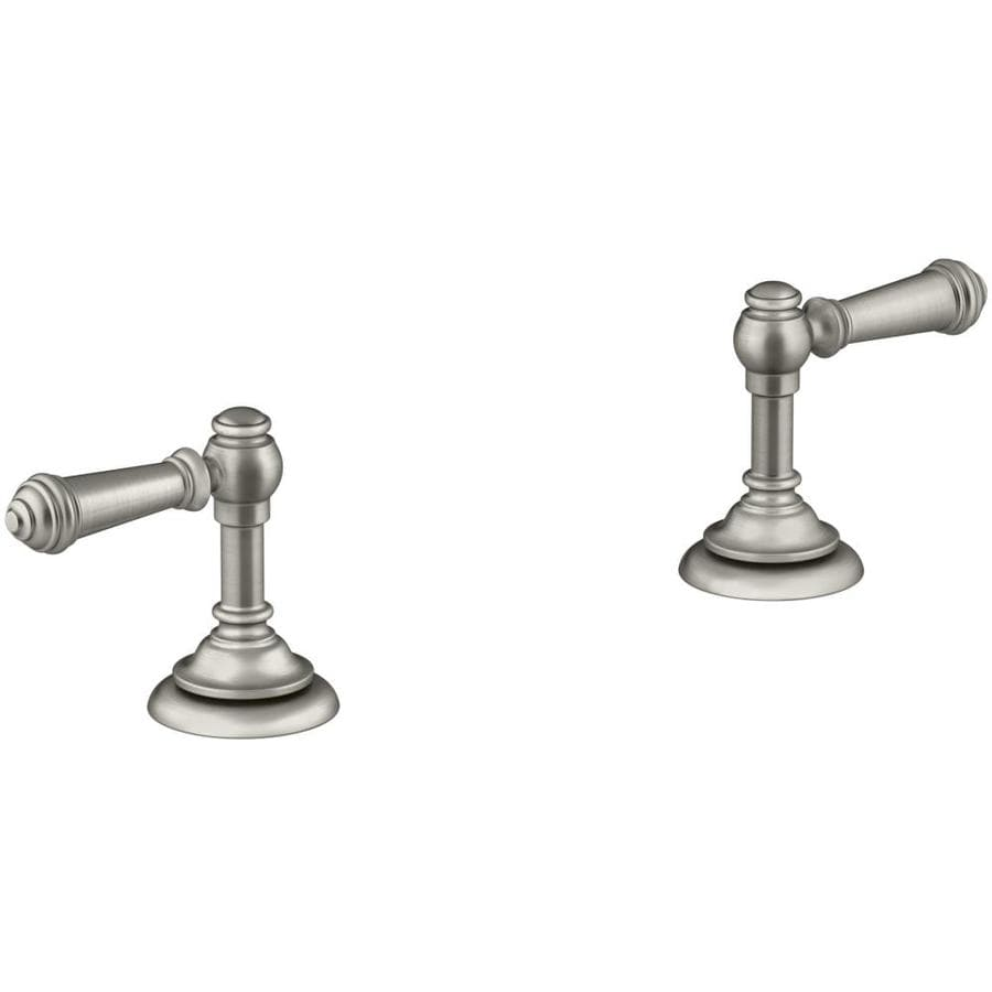 KOHLER Nickel Lever Bathtub handle