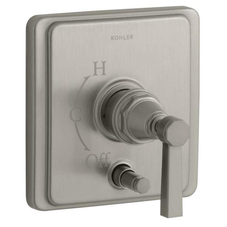 KOHLER Brushed Nickel Lever Shower Handle