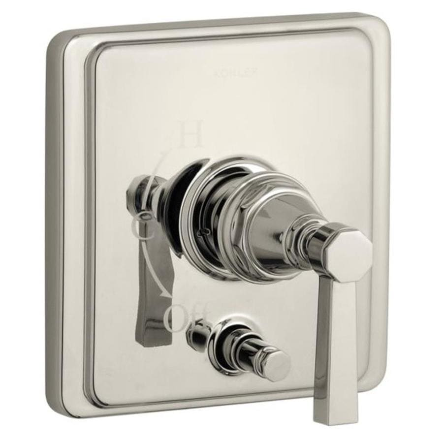 KOHLER Polished Nickel Cross Shower Handle