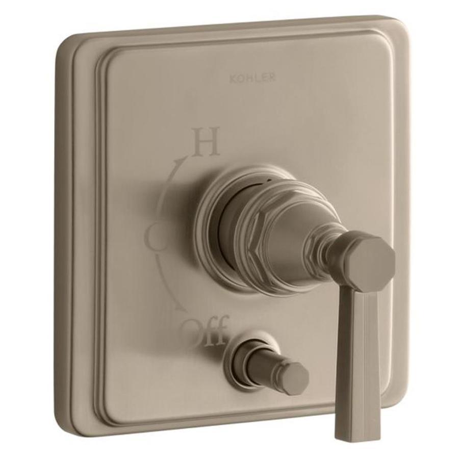 KOHLER Brushed Bronze Lever Shower Handle