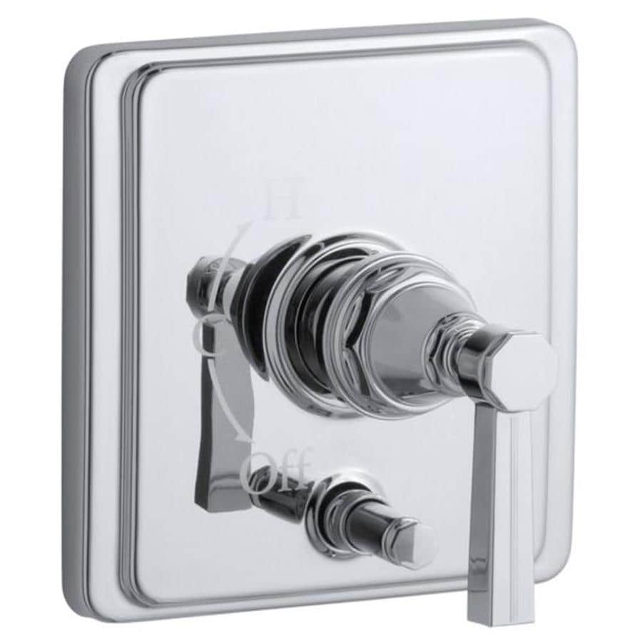 KOHLER Polished Chrome Cross Shower Handle