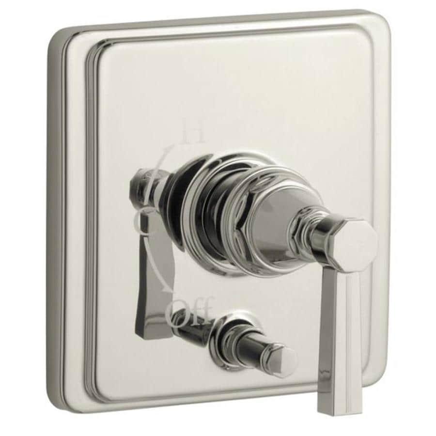 KOHLER Polished Nickel Cross Shower Handle