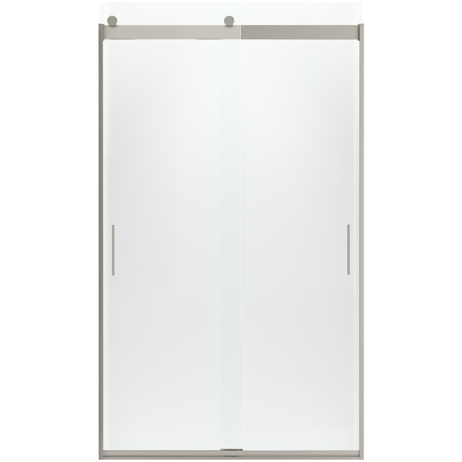 KOHLER Levity 44-in to 47-in Frameless Sliding Shower Door