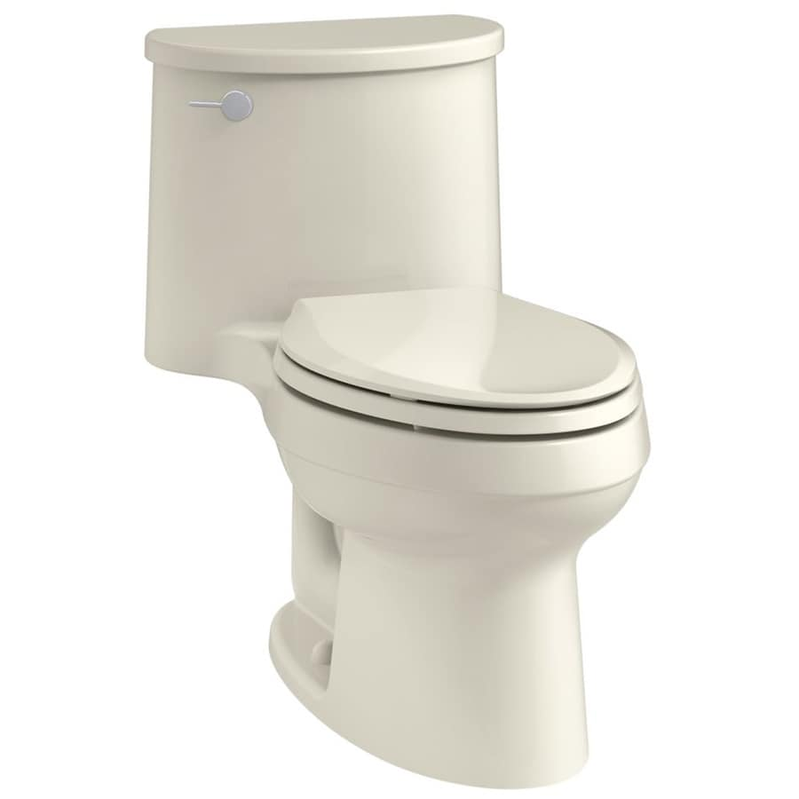 KOHLER Adair 1.28 Biscuit WaterSense Elongated Standard Height 1-Piece Toilet