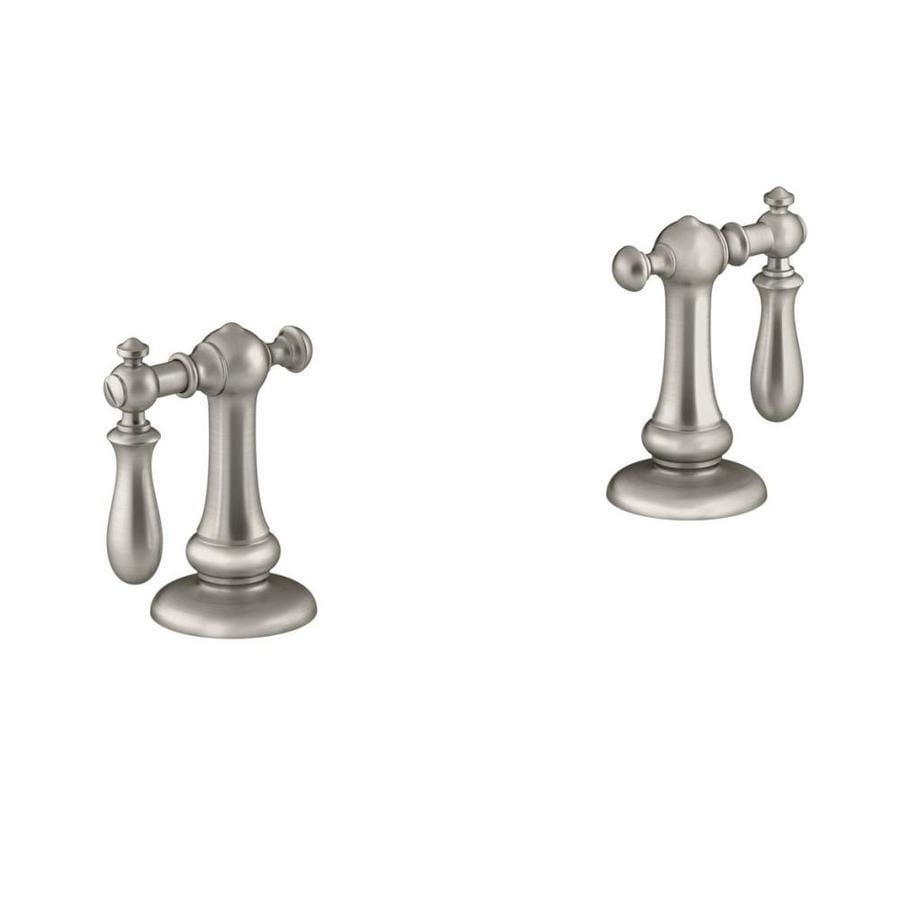 Shop Kohler Nickel Faucet Or Bathtub Shower Handle At