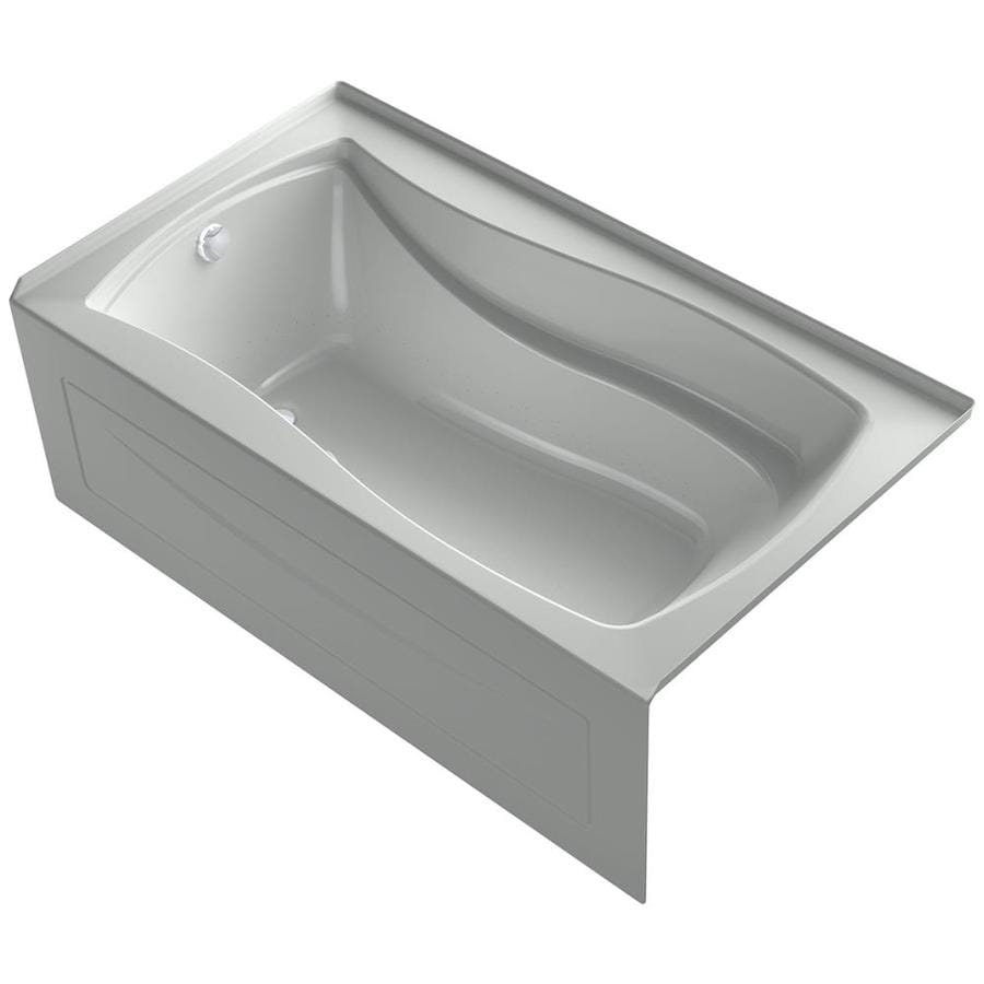 KOHLER Mariposa 66-in L x 36-in W x 21.25-in H Sandbar Acrylic Rectangular Drop-in Air Bath