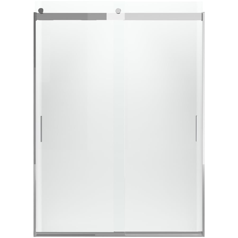KOHLER Levity 82-in H x 31.5-in W Crystal Clear Shower Glass Panel