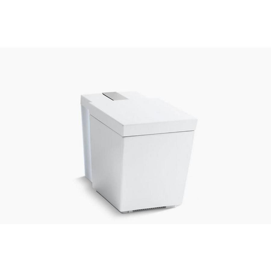 KOHLER Numi 1.28 White WaterSense Dual-Flush Elongated Standard Height 1-Piece Toilet