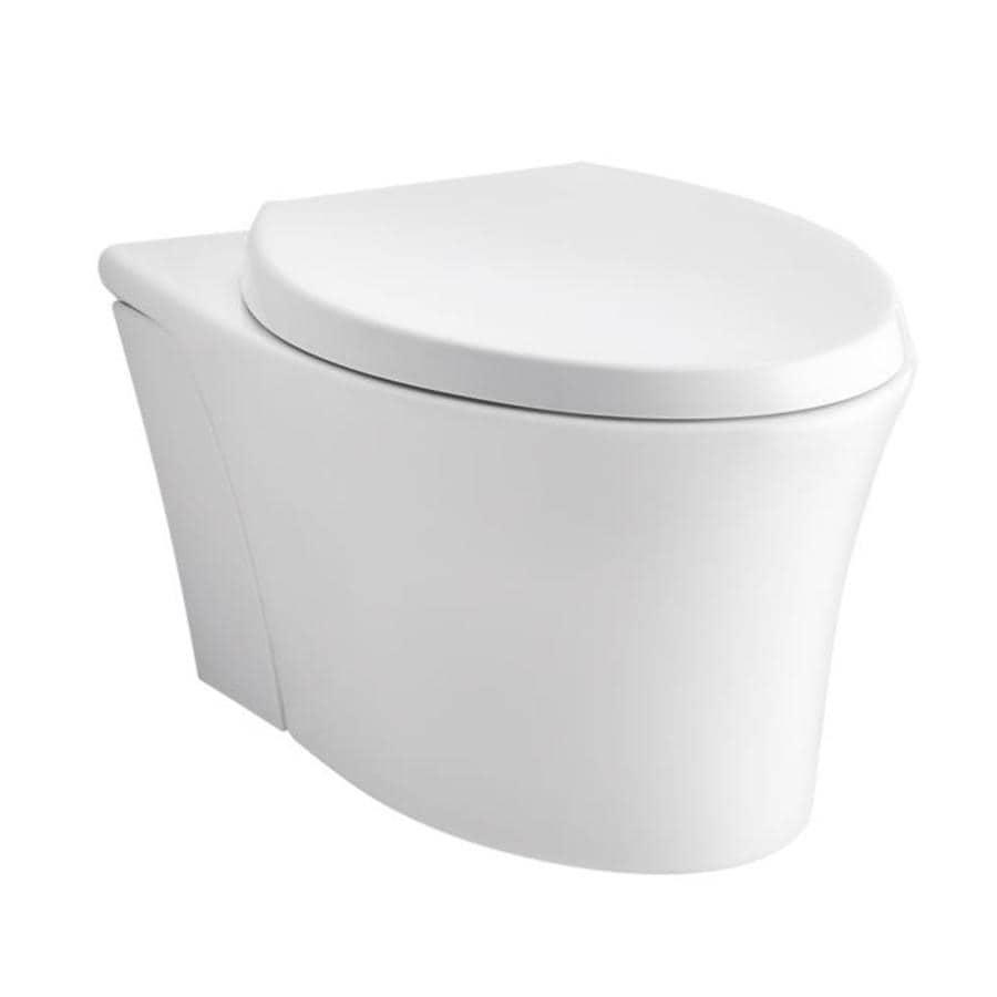 Kohler Veil White Elongated Standard Height Toilet Bowl At
