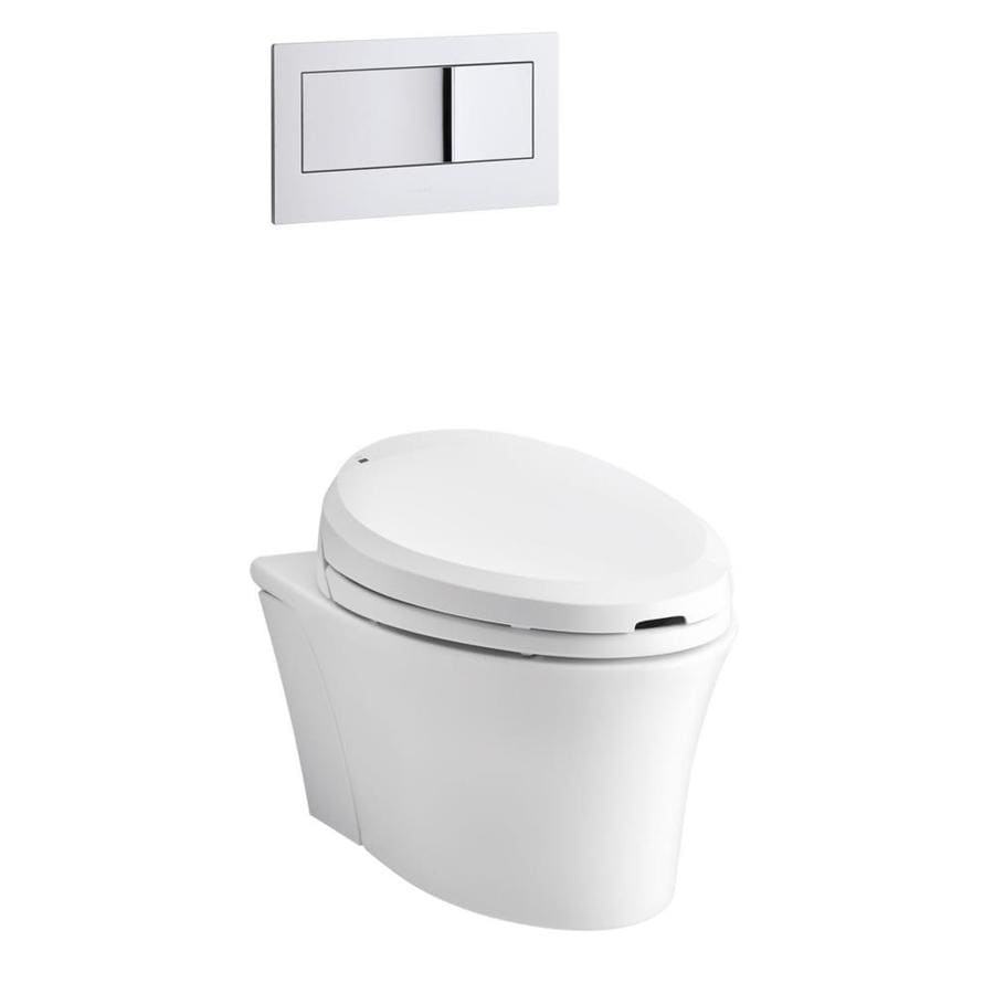 Shop Kohler Veil Standard Height White Wall Hung Rough In