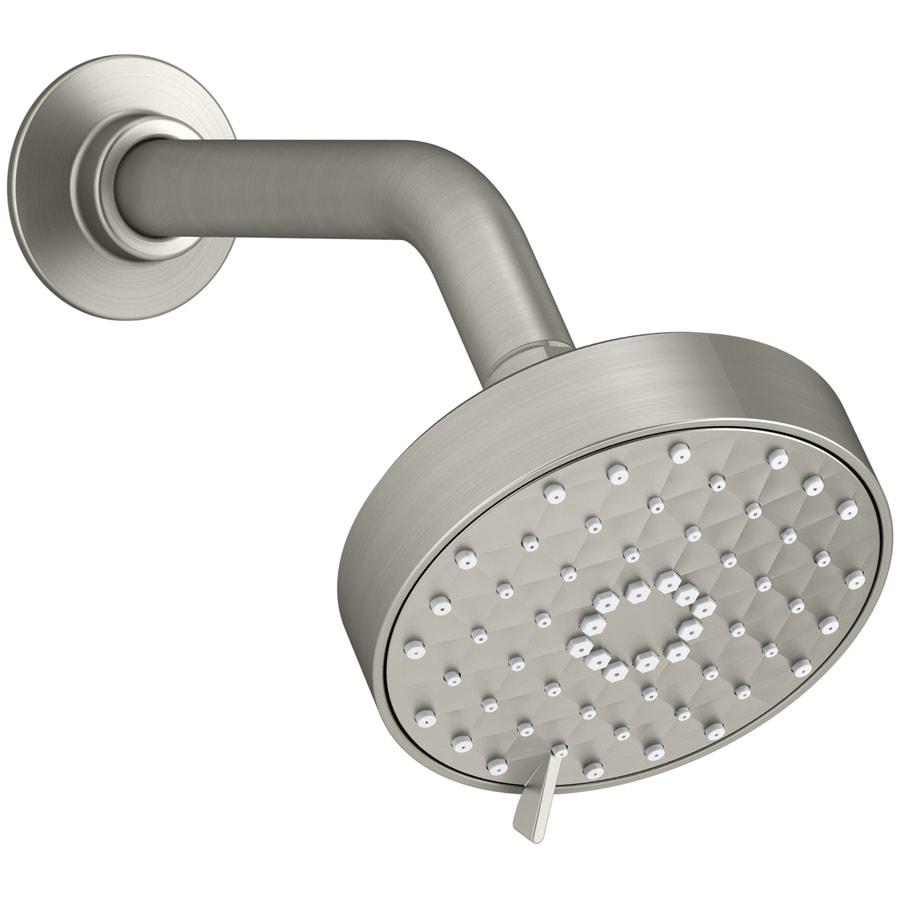 KOHLER Awaken Vibrant brushed Nickel 3-Spray Shower Head