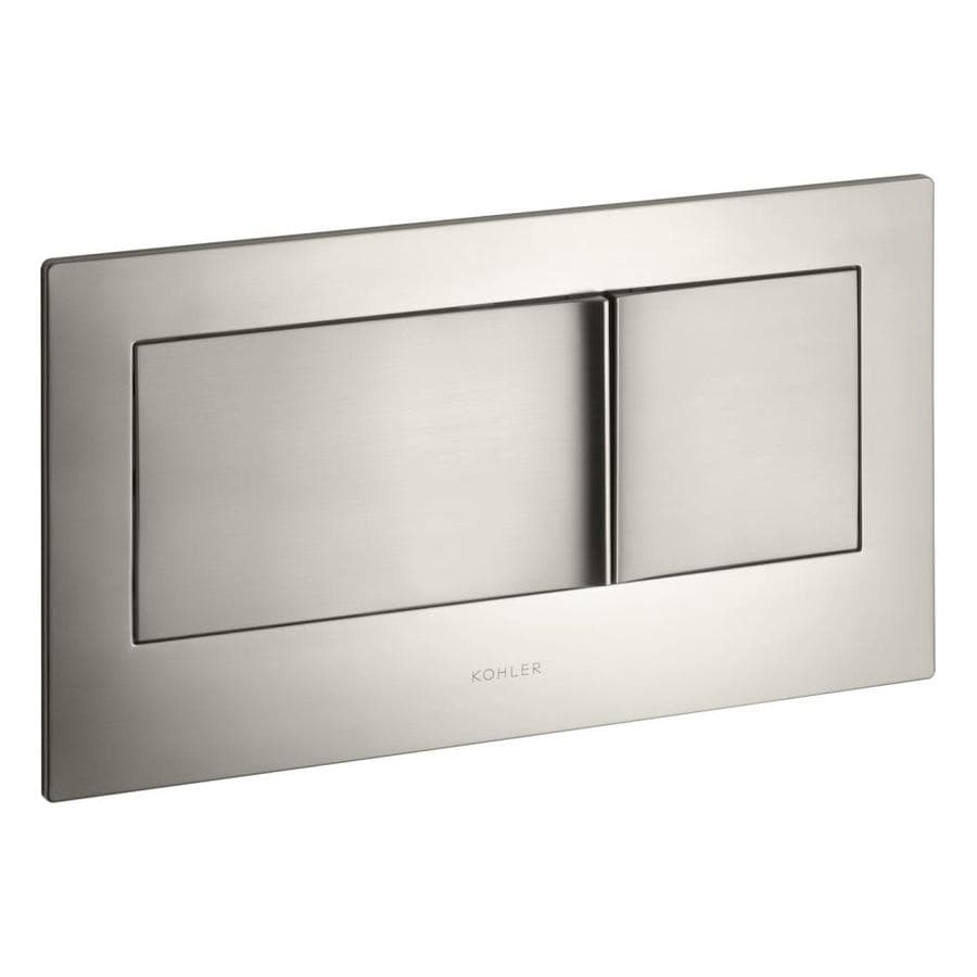 KOHLER Vibrant Brushed Nickel Metal Flush Actuator