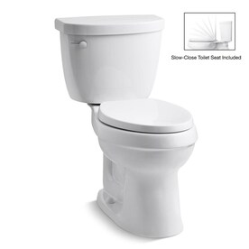 Elongated Chair Height Toilets At Lowes Com