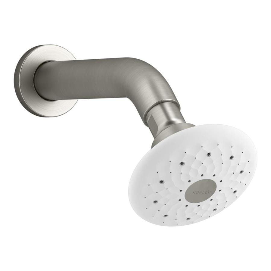 KOHLER Exhale Vibrant Brushed Nickel 3-Spray Shower Head