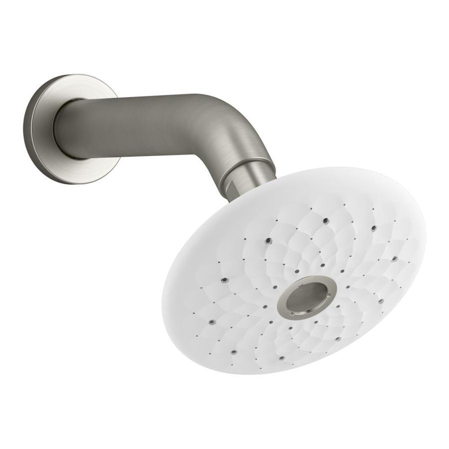KOHLER Exhale Vibrant Brushed Nickel 4-Spray Shower Head