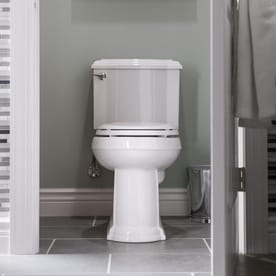 kohler devonshire 128gpf 485lpf white watersense elongated chair height 2piece toilet