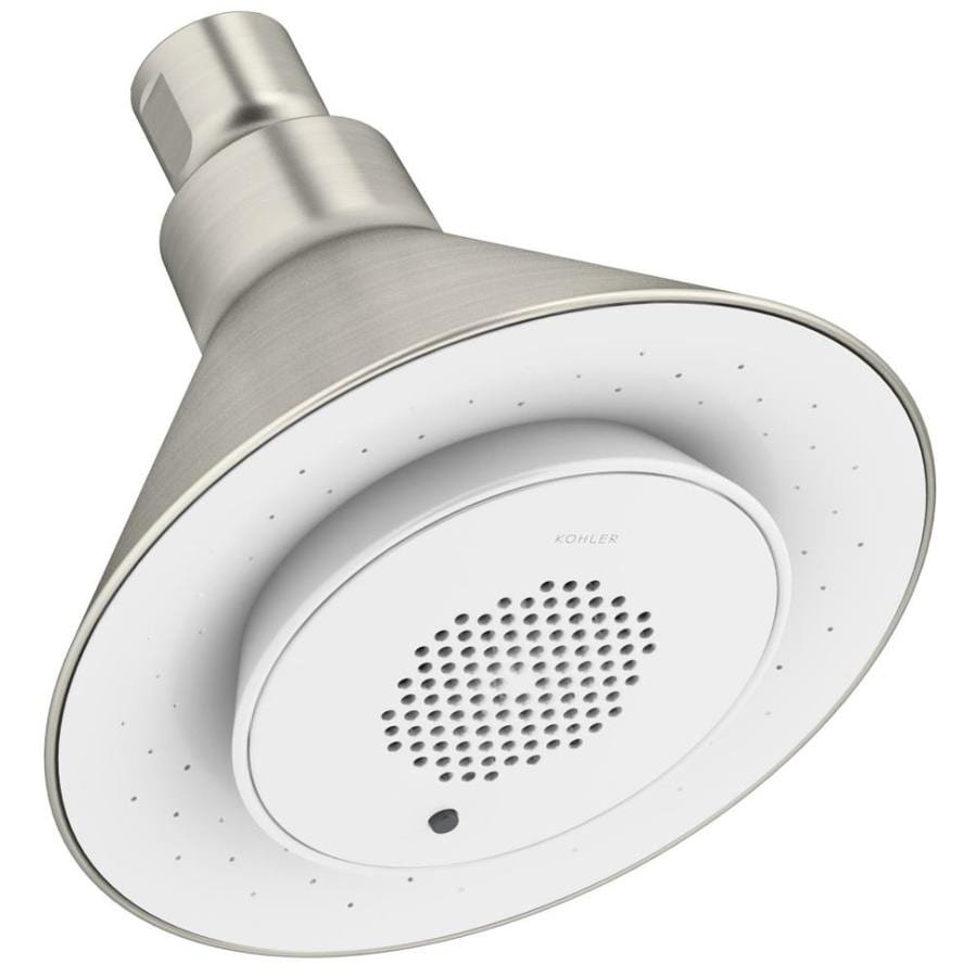 KOHLER Moxie Vibrant brushed Nickel 1-Spray Shower Head