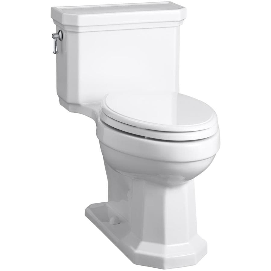 KOHLER Kathryn White WaterSense Labeled  Elongated Chair Height Bidet Function 1-piece Toilet 12-in Rough-In Size