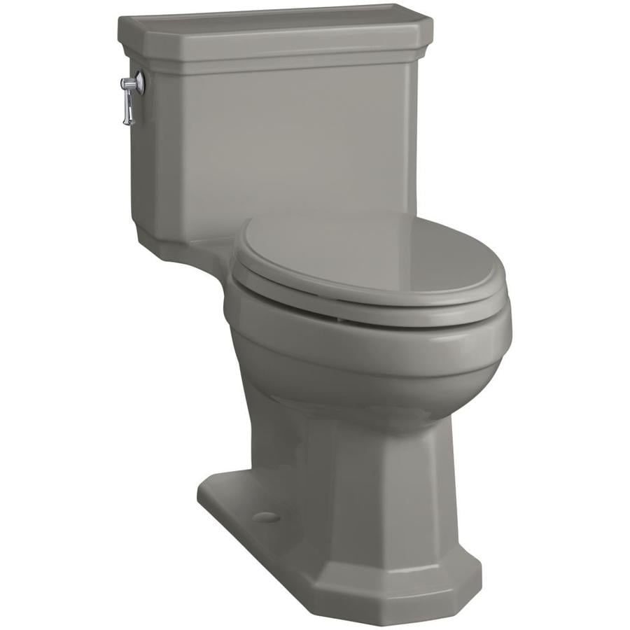 KOHLER Kathryn 1.28-GPF (4.85-LPF) Cashmere Elongated Chair Height 1-piece Toilet