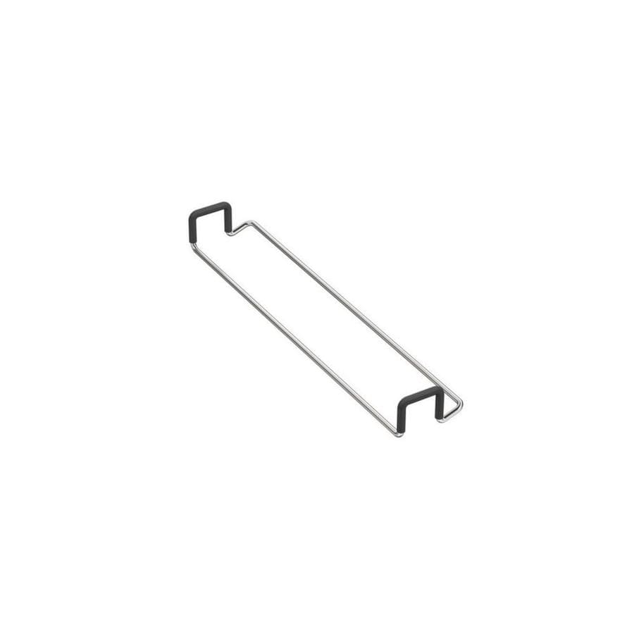KOHLER Stainless Steel Double Towel Bar (Common: 14-in Double; Actual: 13.5625-in)