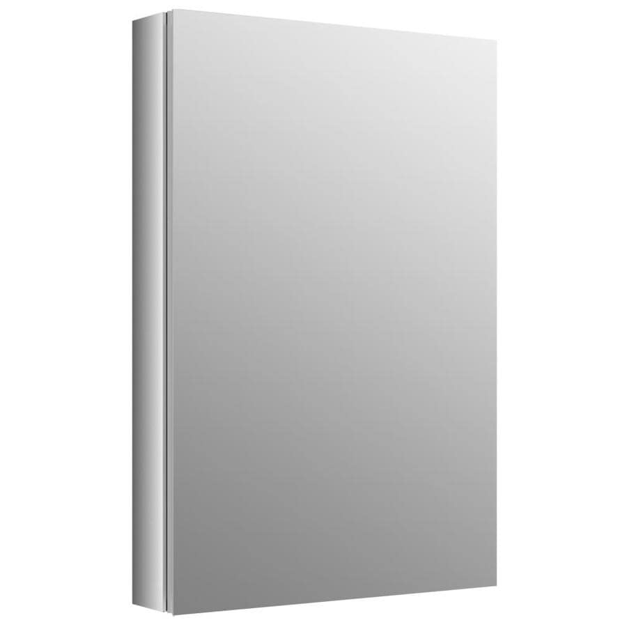 KOHLER Verdera 20 In X 30 In Rectangle Surface/Recessed Mirrored Aluminum  Medicine Part 37