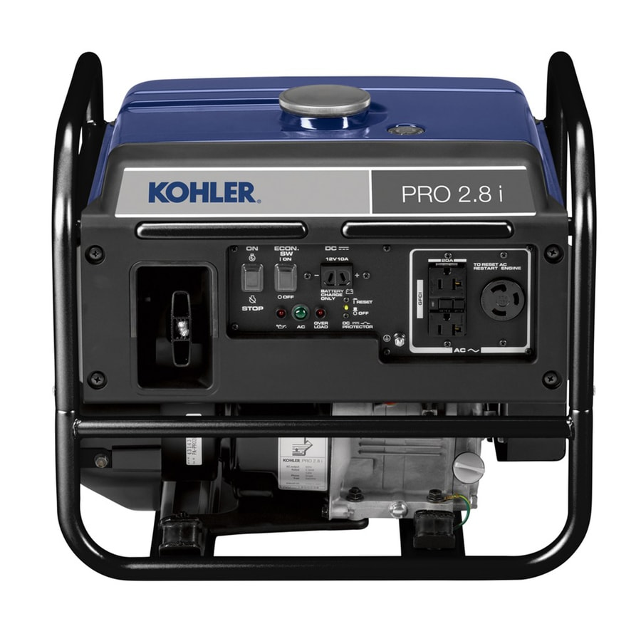KOHLER Pro28i 2,500-Running-Watt Inverter Portable Generator with Kohler Engine