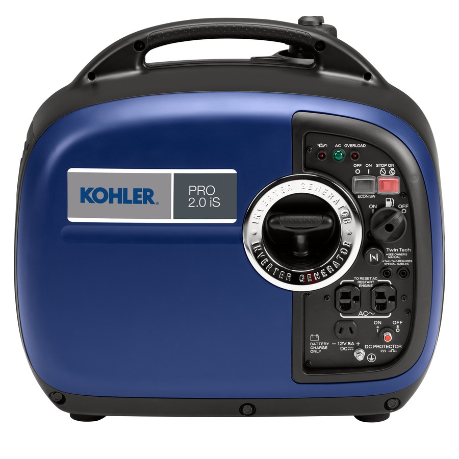 KOHLER Pro20iS 1,600-Running-Watt Inverter Portable Generator with Kohler Engine