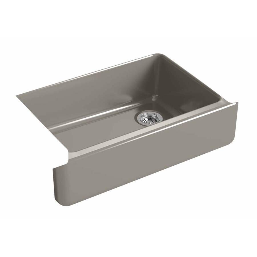 KOHLER Whitehaven 32.68-in X 21.56-in Cashmere Single