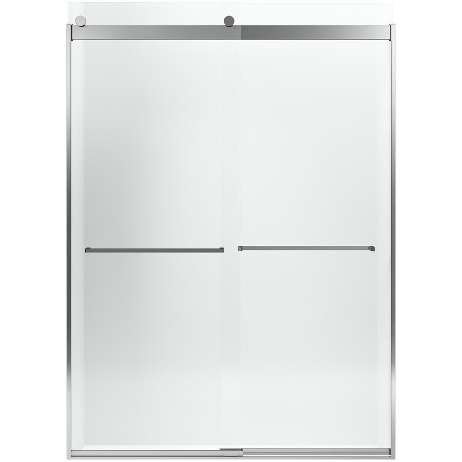 KOHLER Levity 70-in H x 31.5-in W Crystal Clear Shower Glass Panel