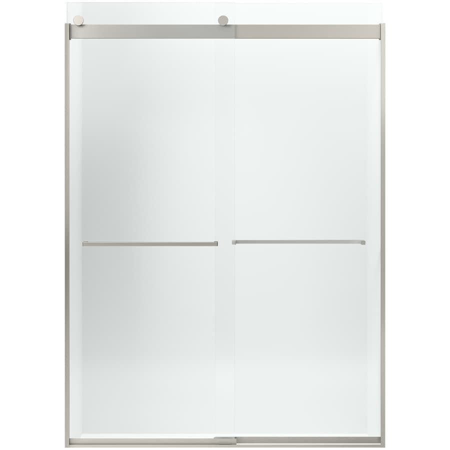 KOHLER Levity 82-in H x 31.5625-in W Crystal Clear Shower Glass Panel