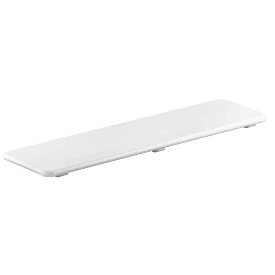 KOHLER White Plastic Drain Cover