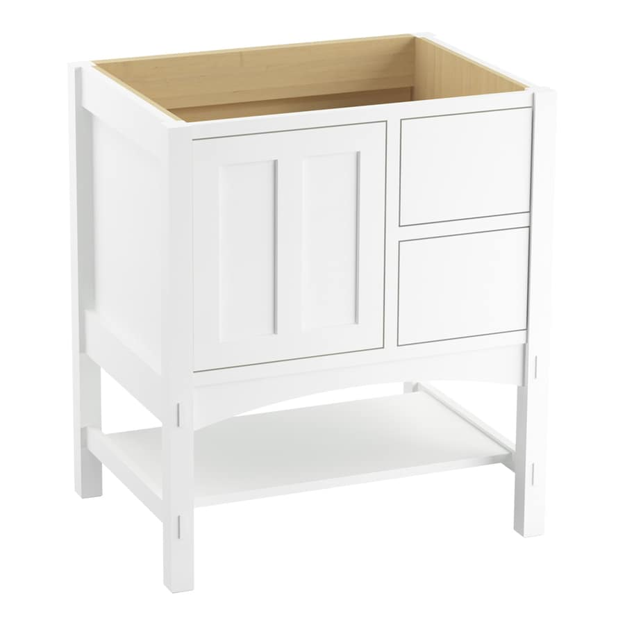 KOHLER Marabou 30-in Linen White Bathroom Vanity Cabinet At Lowes.com