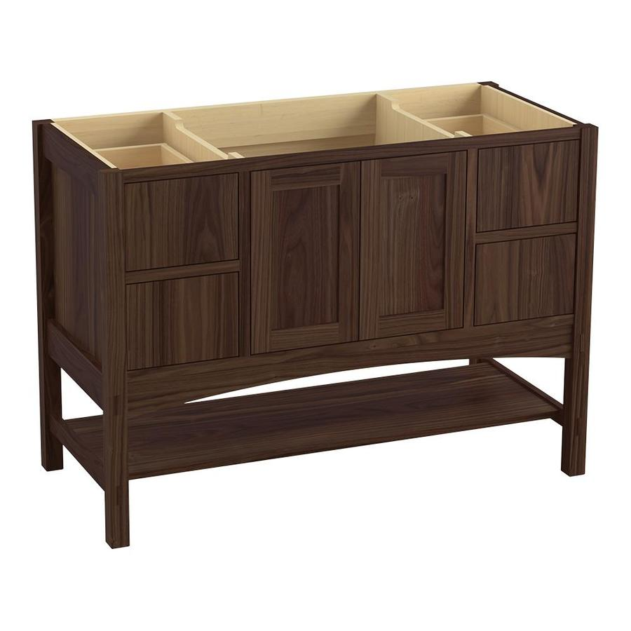 KOHLER Marabou Terry Walnut Bathroom Vanity (Common: 36-in x 22-in; Actual: 36-in x 21.87-in)