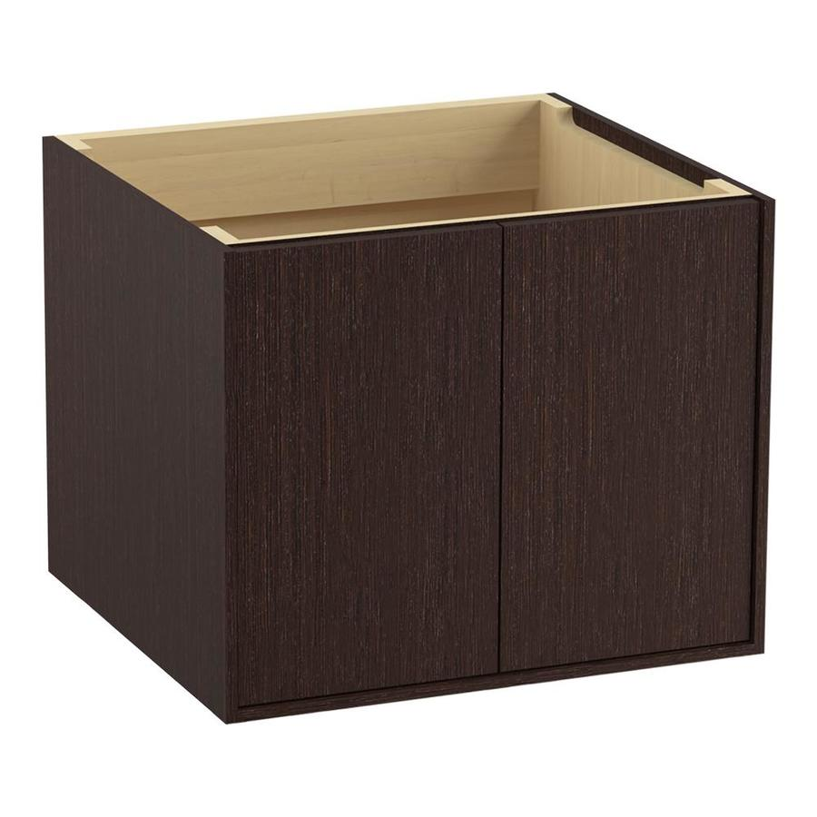 KOHLER Jute 24-in Laurentii Silk Contemporary Bathroom Vanity