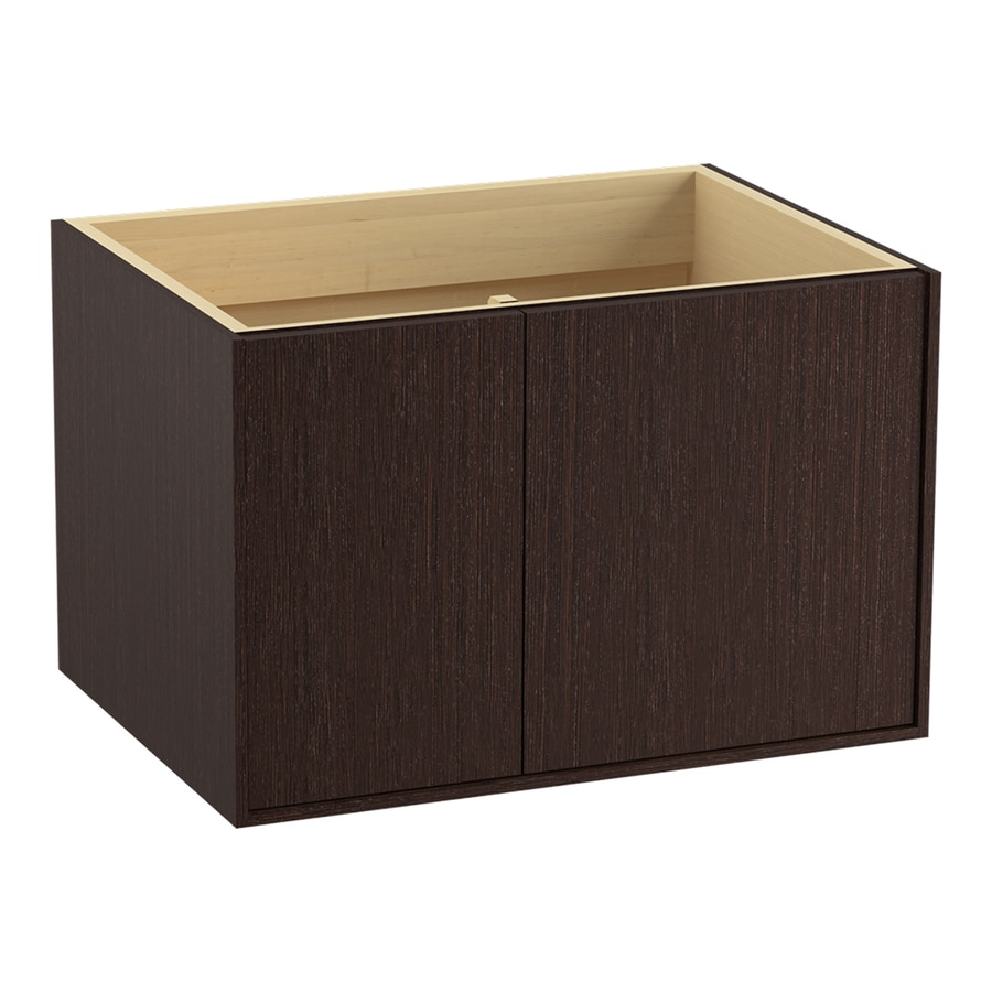 KOHLER Jute Wall-mount Laurentii Silk Bathroom Vanity (Common: 30-in x 22-in; Actual: 30-in x 21.87-in)